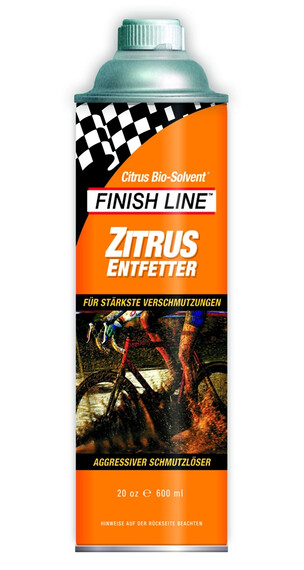 Desengrasante Finish Line Citrus 600 ml
